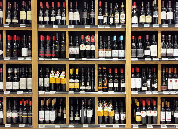 892 Liquor Store Shelf Stock Photos Pictures Royalty Free Images Istock