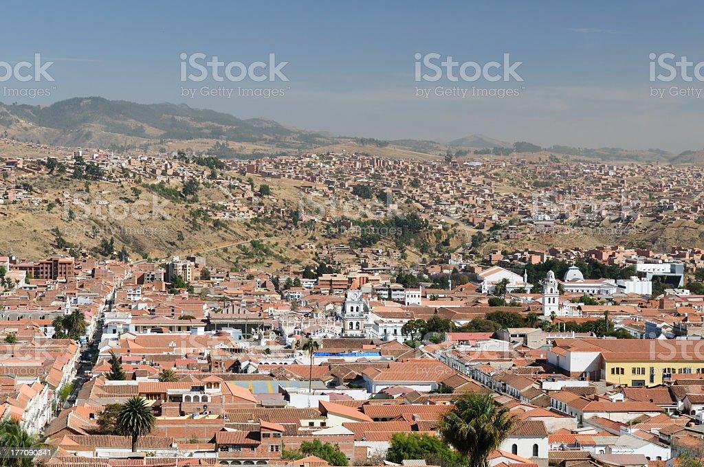 South America - Bolivia, Sucre stock photo
