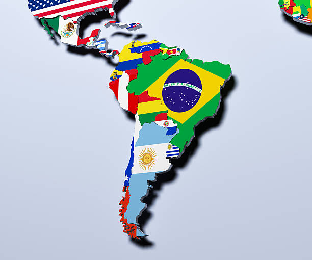 Royalty Free Latin America Map Pictures Images And Stock Photos