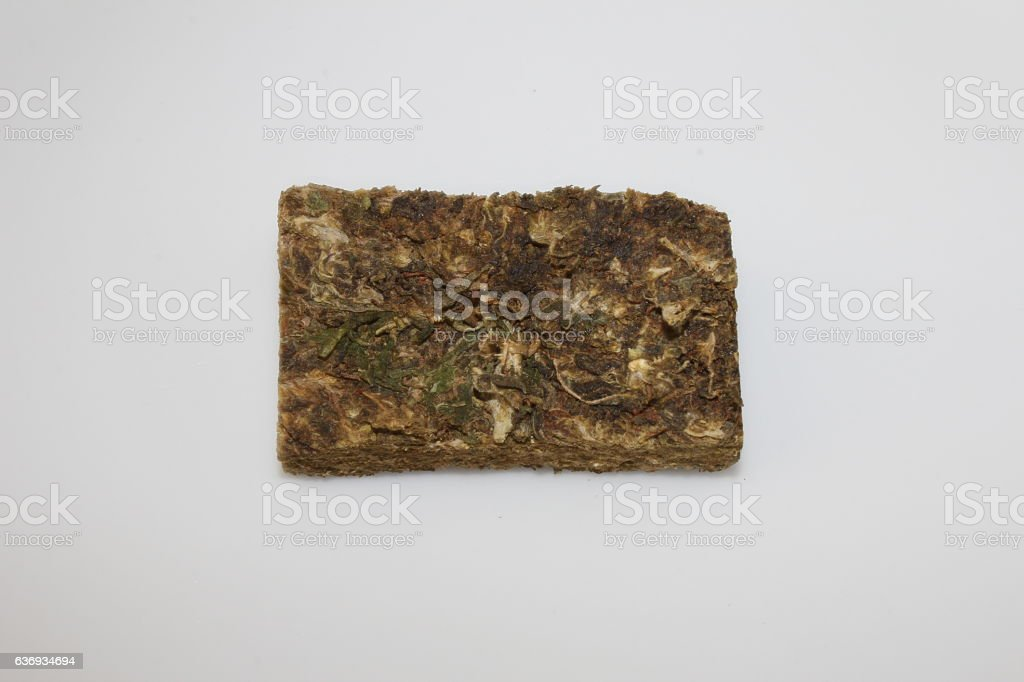 South America Marijuana (Prensado) stock photo