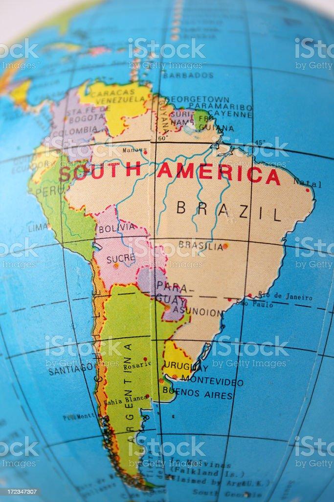 América del Sur - foto de stock