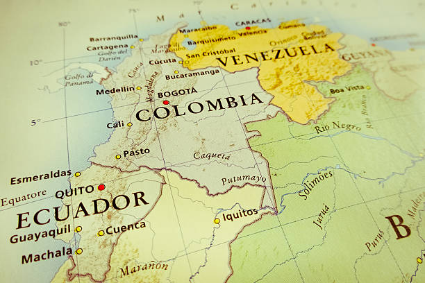 south america - colombia stock photos and pictures