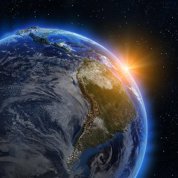 Südamerika Sonnenaufgang – Foto