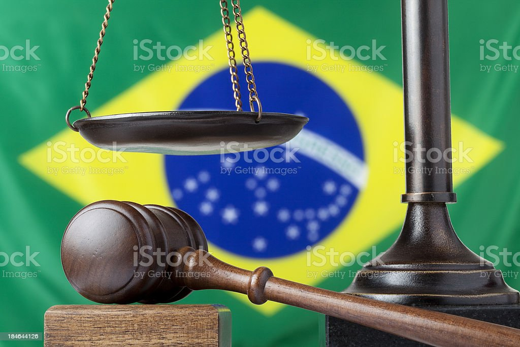 South American justice stock photo