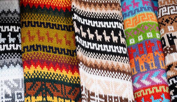 South American Textilien – Foto