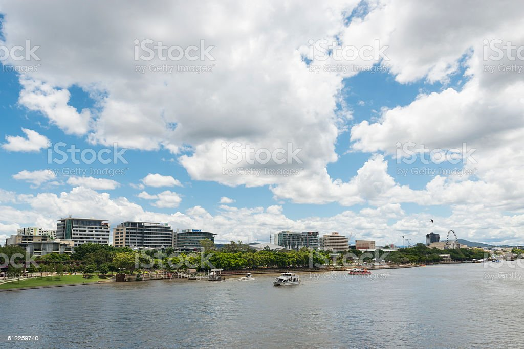 South Bank Brisbane Australia stock photo