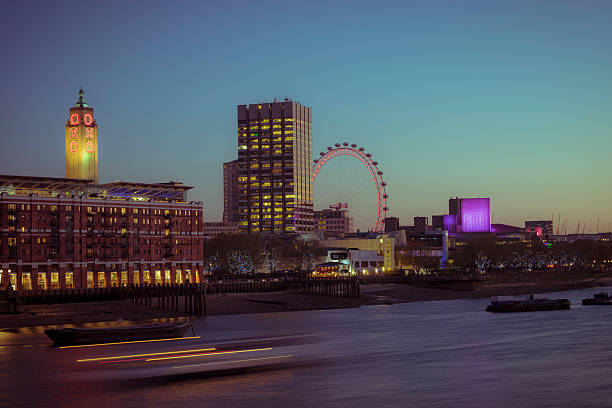 South bank wheel in Pastell – Foto