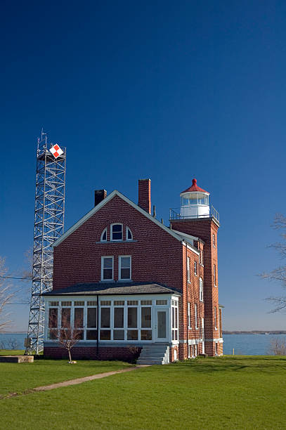 South Bass Island Lighthouse stock photo