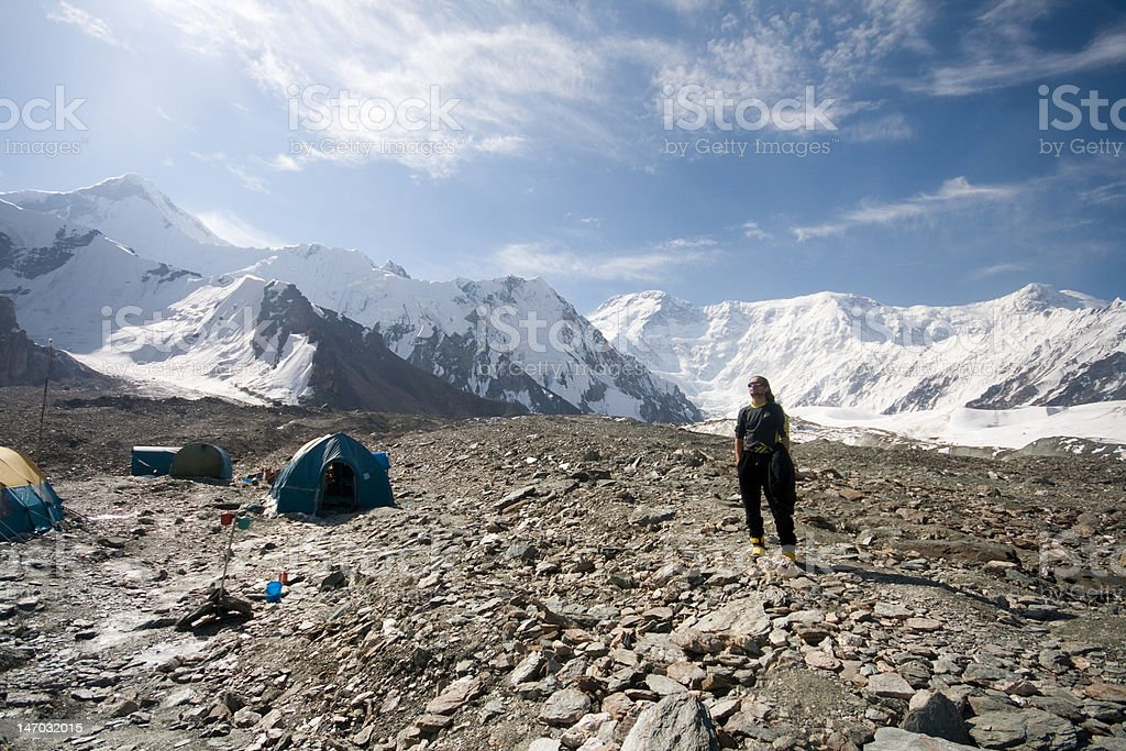 south BC in Tien Shan royalty-free stock photo