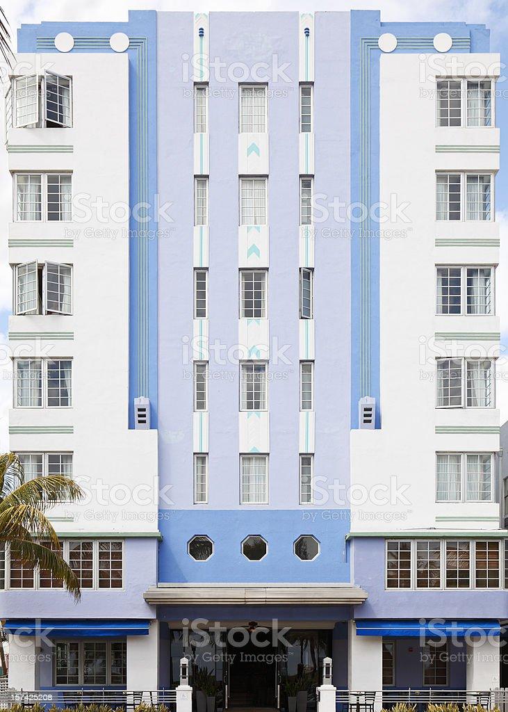 South Beach Architecture stock photo
