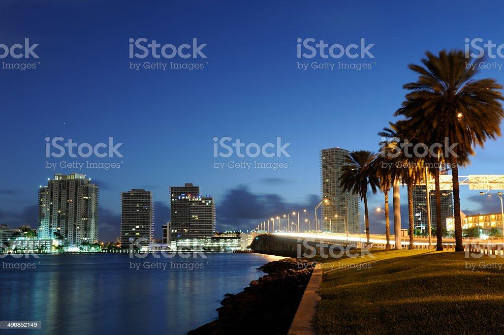 South Beach at Dawn stock photo