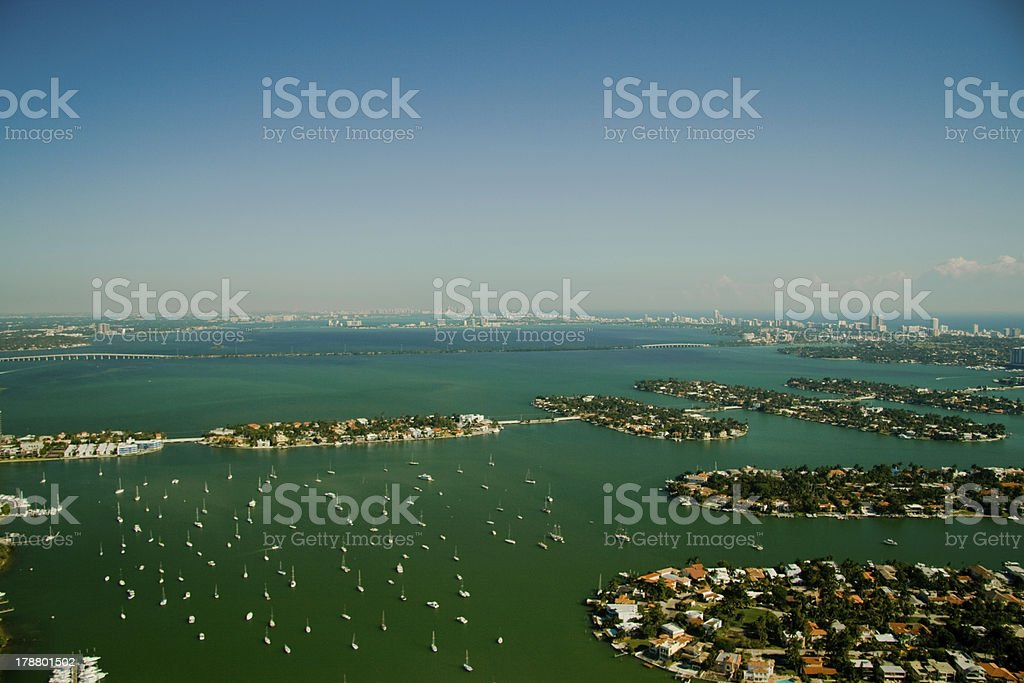 South Beach in Miami royalty-free stock photo