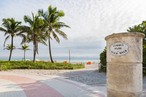 South Beach, Miami Beach stock photo