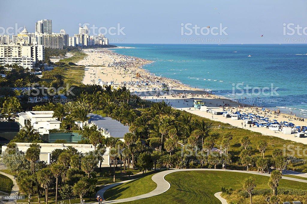 South Beach, Miami, Florida stock photo