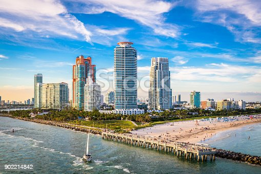 istock South Beach, Miami, Florida, USA 902214842