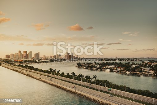 South Beach Miami, Sunset
