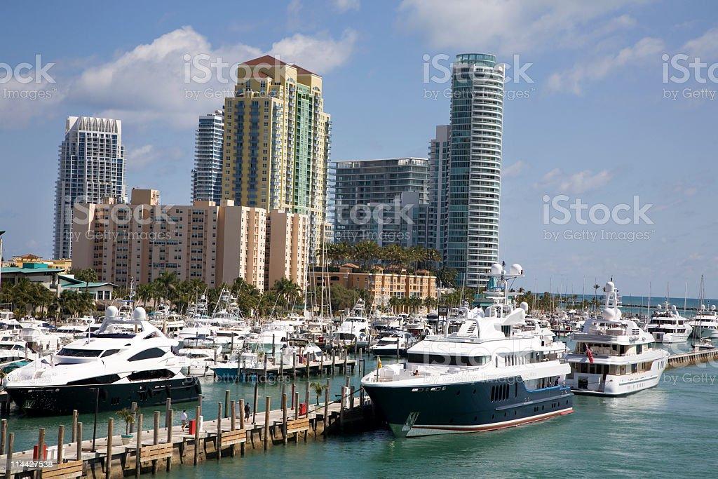 South Beach Miami royalty-free stock photo