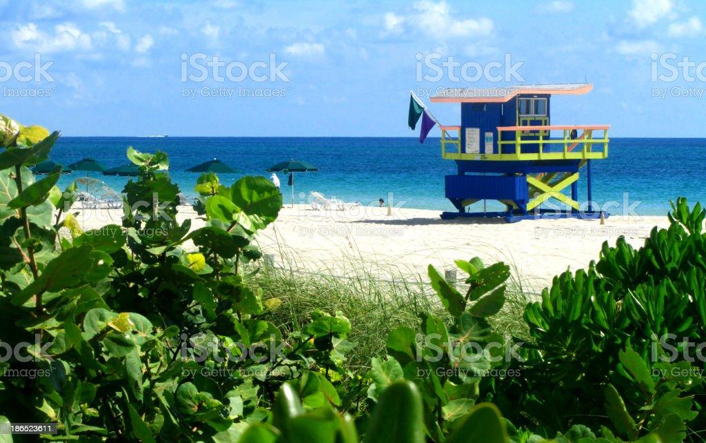 South Beach - Miami royalty-free stock photo