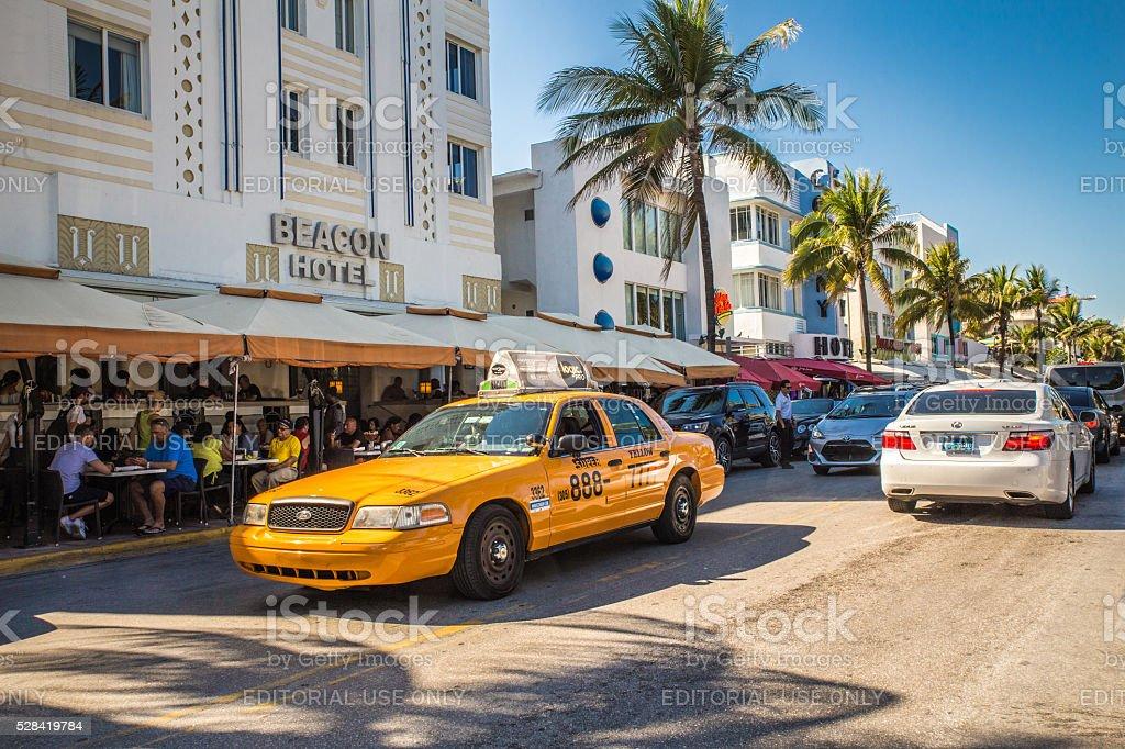 South Beach Miami stock photo