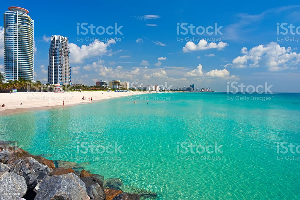 South Beach, Miami royalty-free stock photo