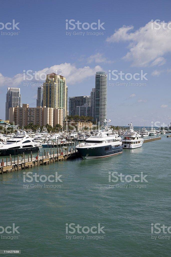 South beach Point stock photo