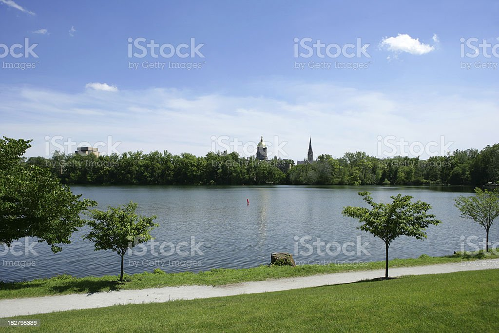 South Bend Indiana stock photo