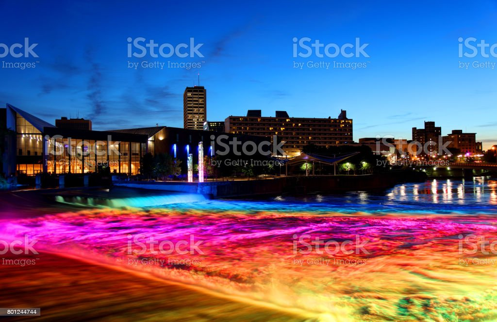 South Bend, Indiana stock photo