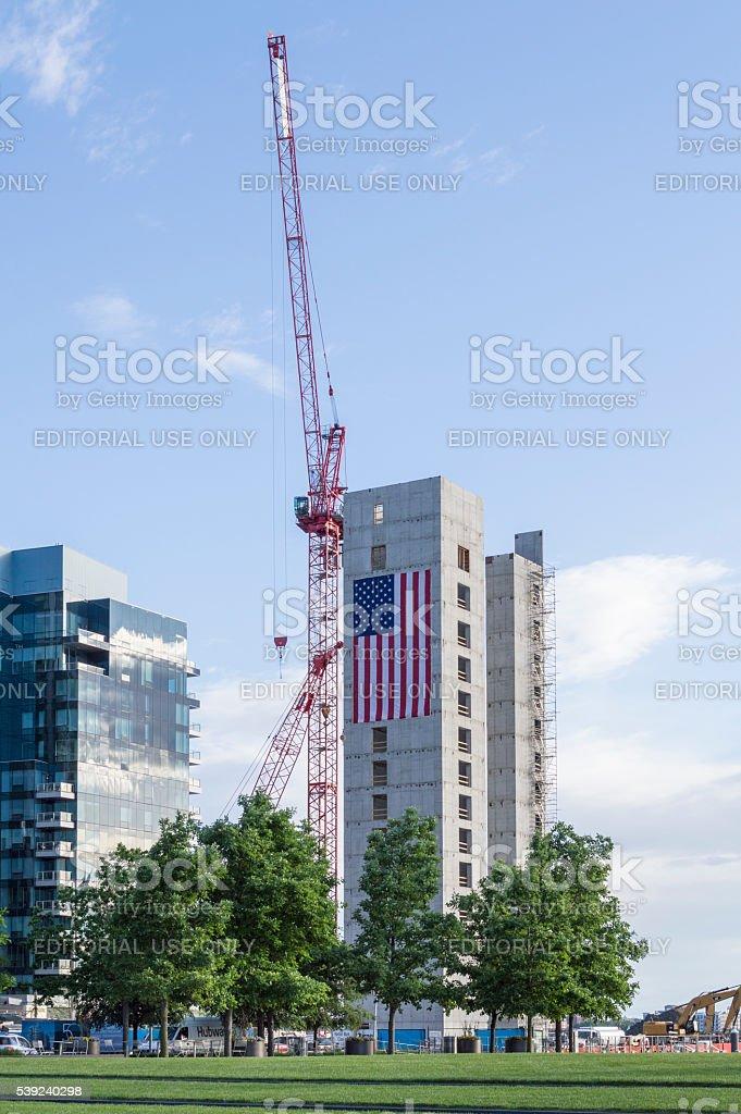South Boston new construction royalty-free stock photo