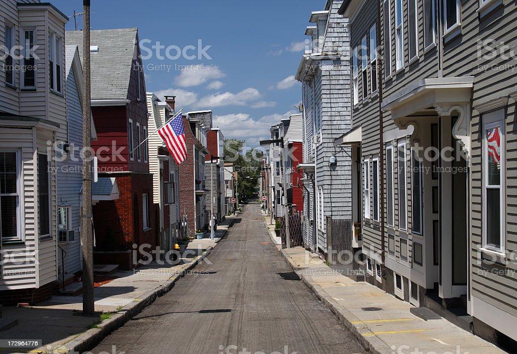 South Boston, Southie neighborhood stock photo