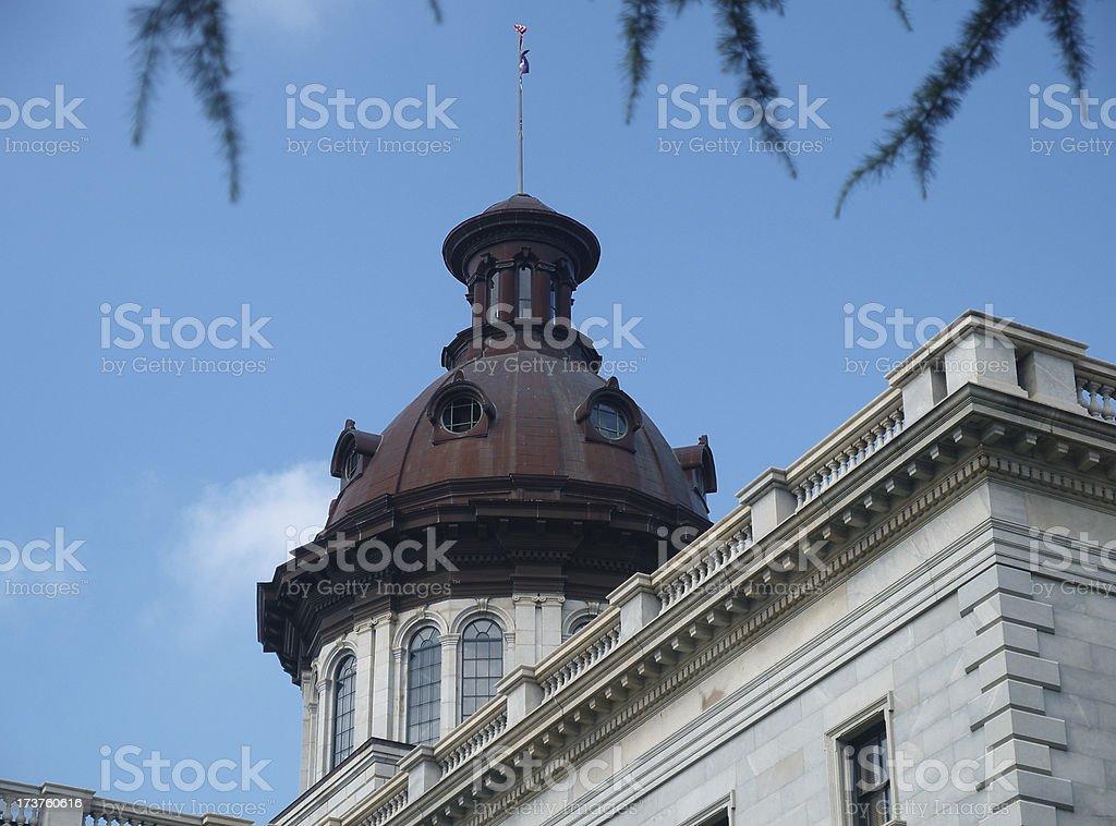 South Carolina Capitol Dome #2 royalty-free stock photo