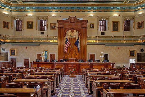 South Carolina House Chamber stock photo