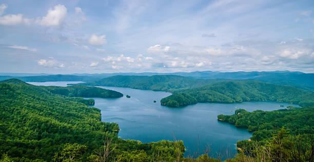 South Carolina Lake Jocassee Gorges Upstate Mountain stock photo