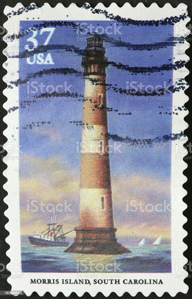 South Carolina lighthouse stock photo