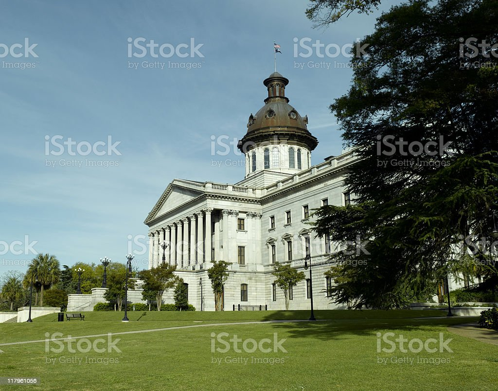 South Carolina State Capital royalty-free stock photo