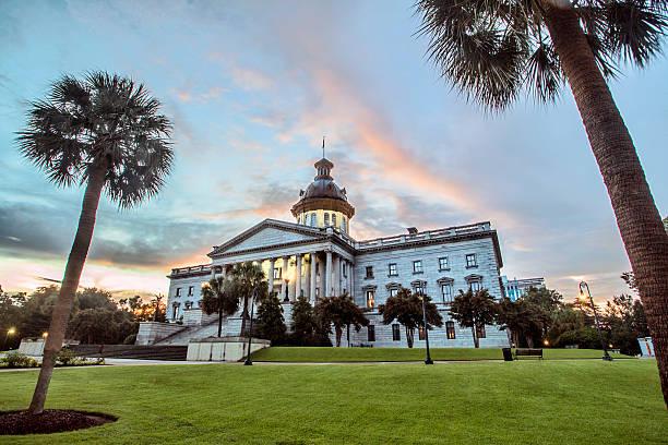 South Carolina State Capitol Building stock photo