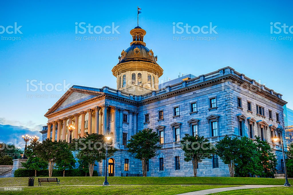 South Carolina State Capitol Building stock photo