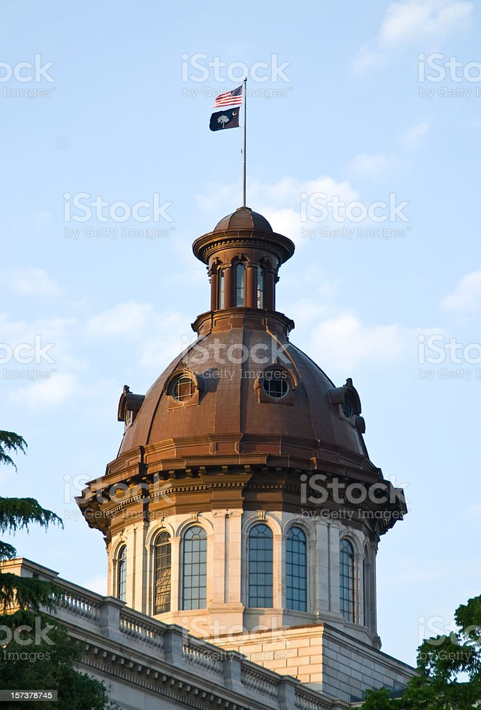 South Carolina State House royalty-free stock photo