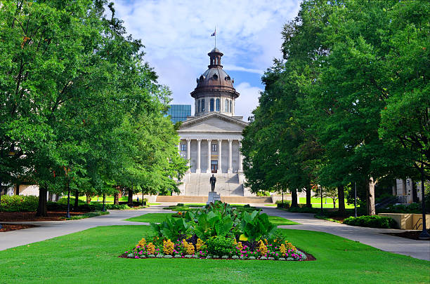South Carolina State House South Carolina State House in Columbia, South Carolina, USA. The building houses the South Carolina General Assembly and until 1971 the supreme court. south carolina stock pictures, royalty-free photos & images