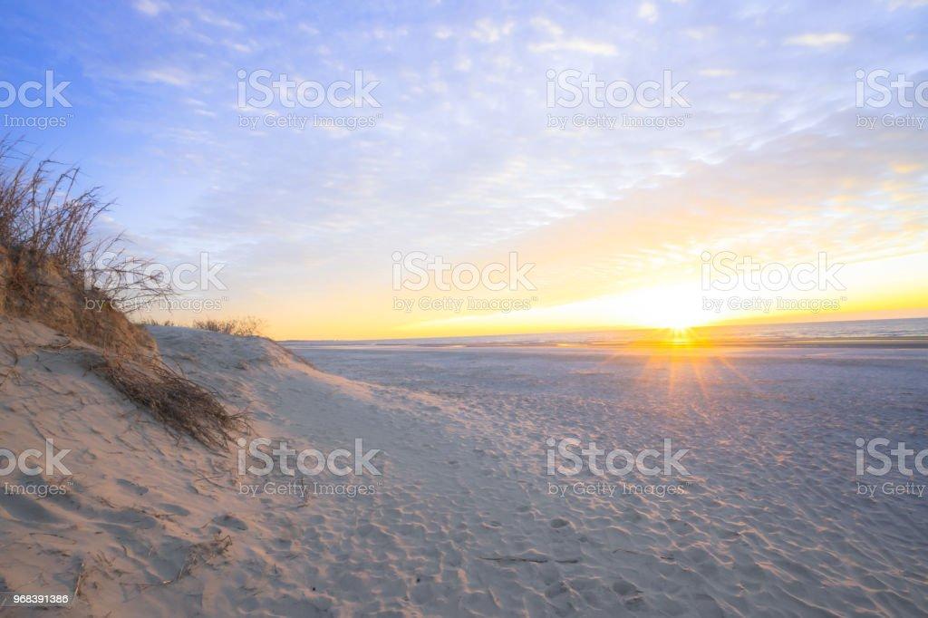 South Carolina sunrise royalty-free stock photo