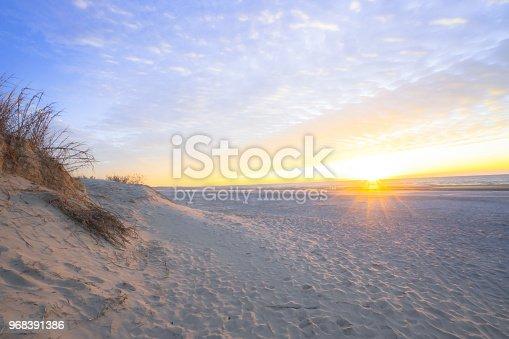 Sunrise near Charleston, South Carolina