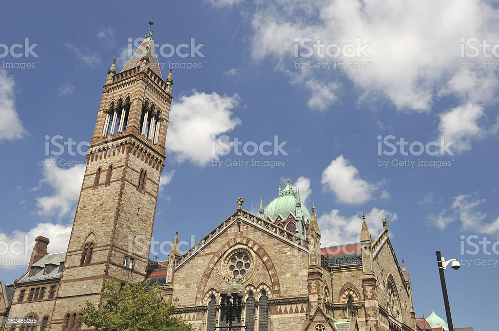South Church in Boston royalty-free stock photo