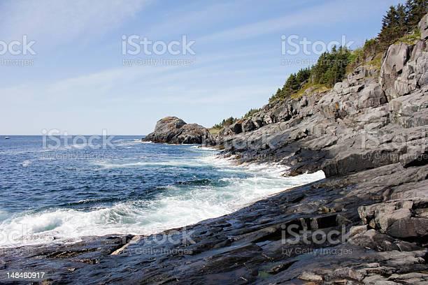 South Coast Of Monhegan Island Stock Photo - Download Image Now