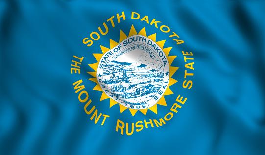 istock south dakota flag US state symbol 1024976102