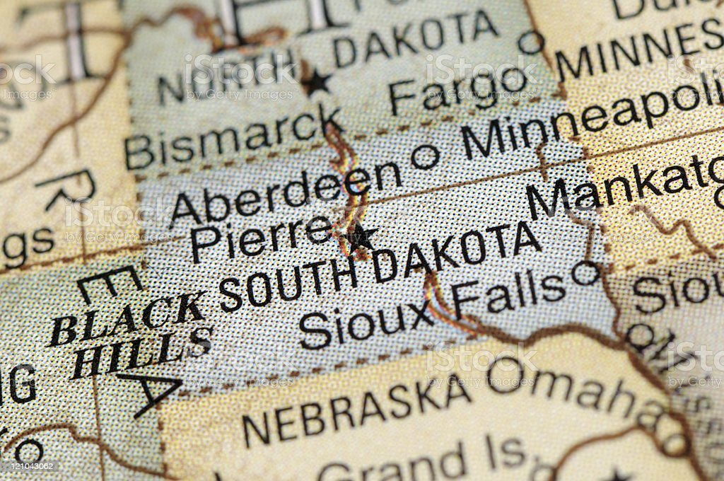 South Dakota stock photo