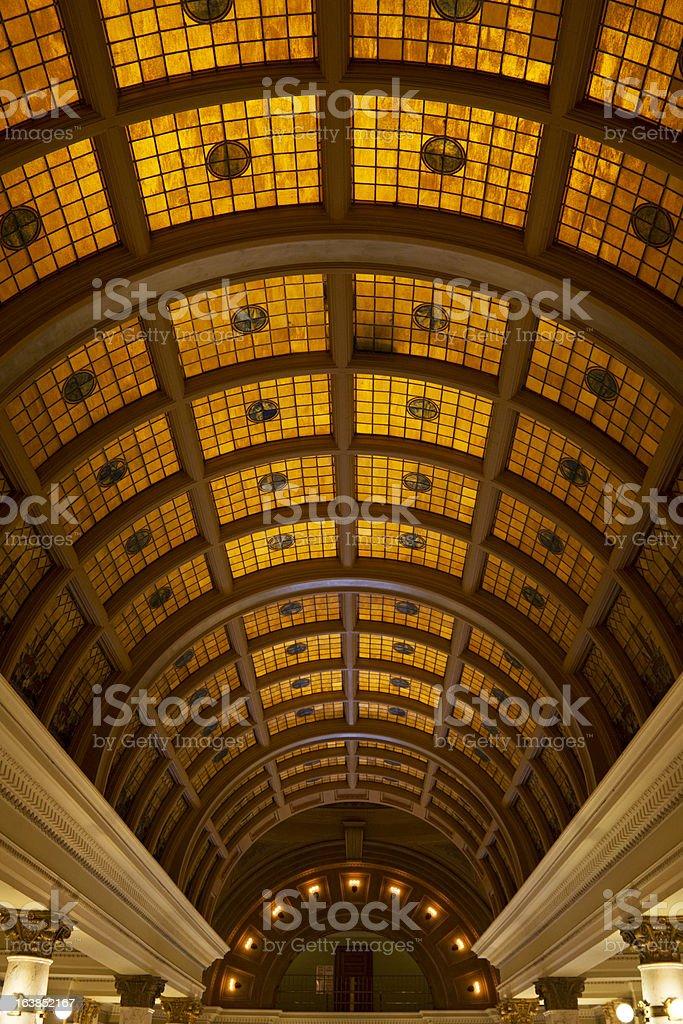 South Dakota State Capitol Building royalty-free stock photo