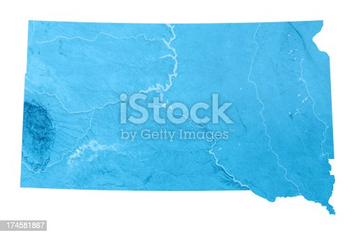 173169385istockphoto South Dakota Topographic Map Isolated 174581867