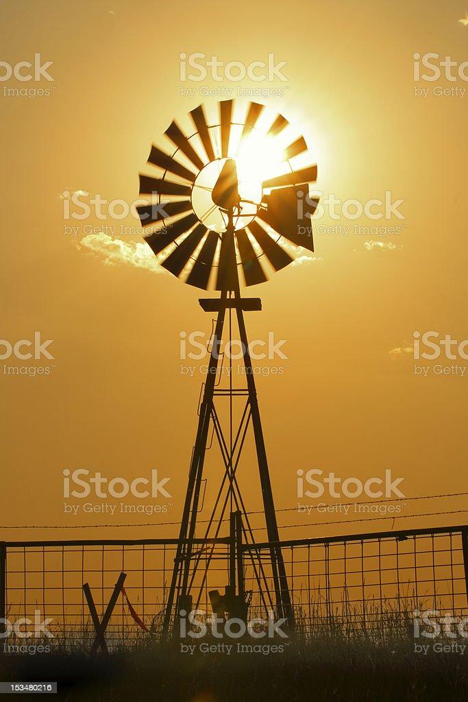 South Dakota Windmill royalty-free stock photo