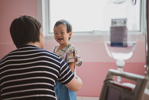 South East & East Asia: Patients in Hospital