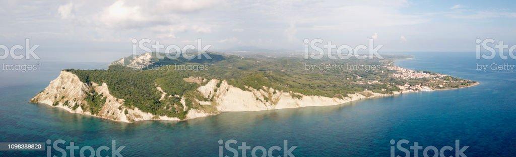 South End of Corfu stock photo