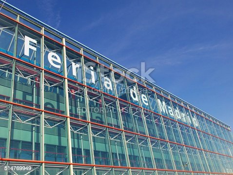 istock South Entrance Building - IFEMA 514769949